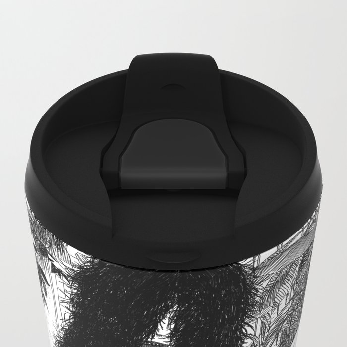 asc 598 - Le monstre d'appartement (An exercice in madness) Metal Travel Mug