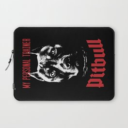 Pitbull My Personal Trainer Laptop Sleeve