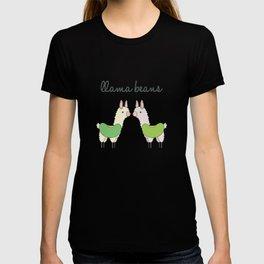 Llama Beans T-shirt