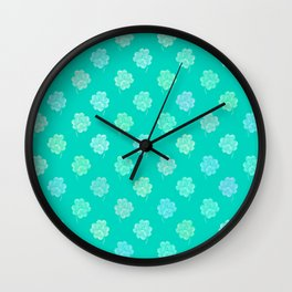 Little Clovers Wall Clock