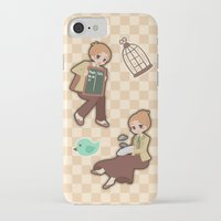 bioshock infinite iPhone & iPod Cases featuring Bioshock Infinite - Luctece Twins by Choco-Minto
