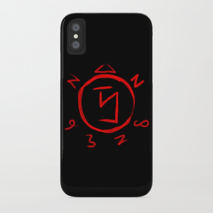 Angel Banishing Sigil - Supernatural iPhone Case