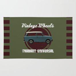 Vintage Wheels: Trabant 601 Universal Rug