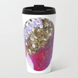 Abstraction World #1. Round version 4 Travel Mug