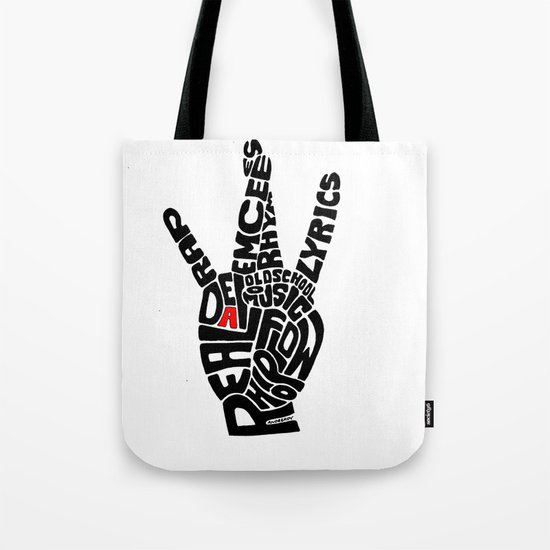 Real D Tote Bag