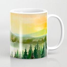 Lake Mountain Coffee Mug