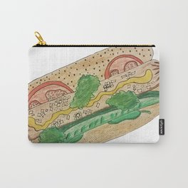 Chicago hotdog Carry-All Pouch