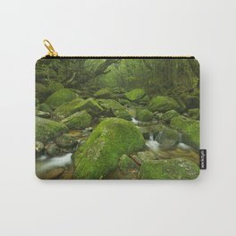 River along Shiratani Unsuikyo rainforest trail on Yakushima Island, Japan Carry-All Pouch