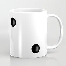 White Domino / Domino Blanco Coffee Mug