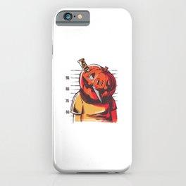 Prisoner pumpkin best gift iPhone Case