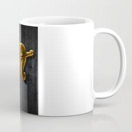 Golden Utopia Ambigram Coffee Mug