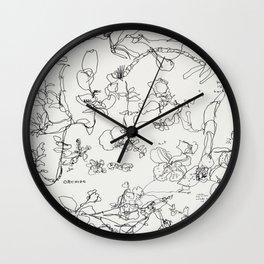 Botanical Bold Wall Clock