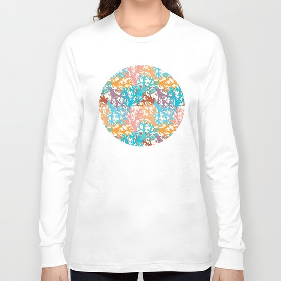 Pastel Marine Pattern 05 Long Sleeve T-shirt