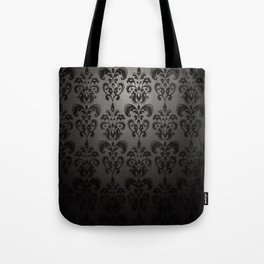 Sophisticated Black Pattern Tote Bag