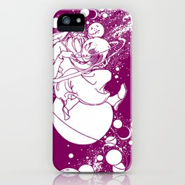 Drawing Moons iPhone Case