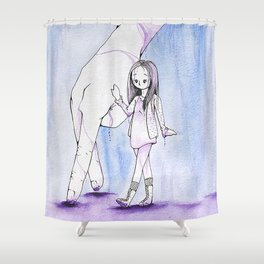 A Friend at Hand Shower Curtain