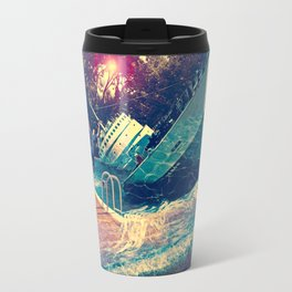 Sinking into the Pool Travel Mug