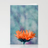 sunflower Stationery Cards featuring sunflower by Claudia Drossert