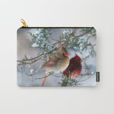 Shining on Her Own (Cardinal) Carry-All Pouch