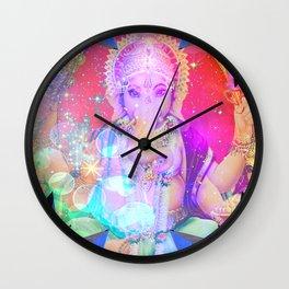 GANESH RAINBOW Wall Clock
