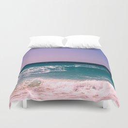 Azure Waves Duvet Cover