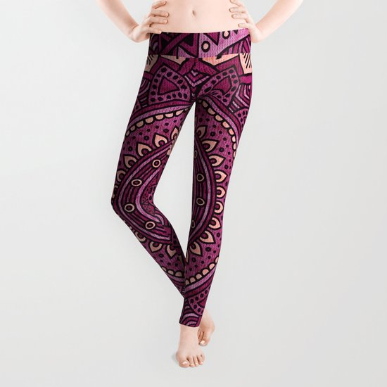 Hippie mandala 39 Leggings