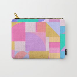 Colourful Bauhaus Carry-All Pouch