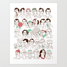 Many Murrays Art Print