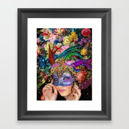 The Mascherari's Muse Framed Art Print