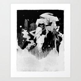 Eros & Thanatos Art Print