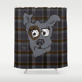 Bandit GRAY Shower Curtain