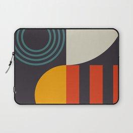 mid century bauhaus geometry square 2 Laptop Sleeve