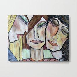 Tre Amici Della Donne Metal Print