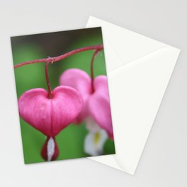 Heart Flowers Stationery Cards