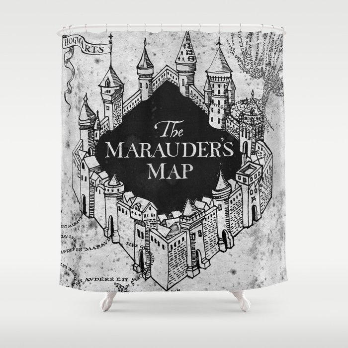 Marauders Map Shower Curtain by bimorecreative   Society6