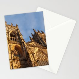York Minster against the sky Stationery Cards