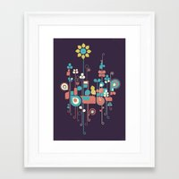 sunflower Framed Art Prints featuring Sunflower by Jay Fleck