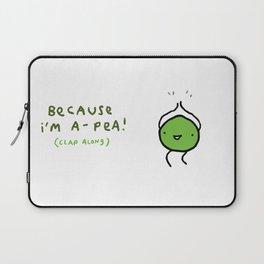 Happy Pea Laptop Sleeve