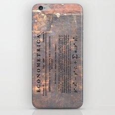 Economics iPhone & iPod Skin