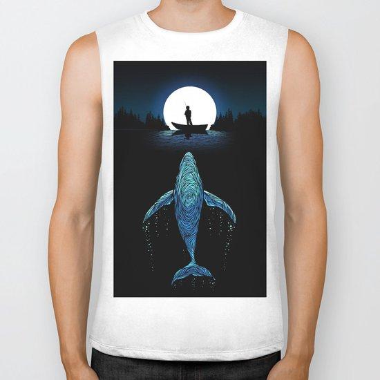 The Whale Biker Tank