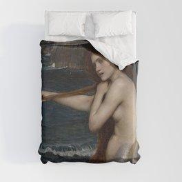 A MERMAID - WATERHOUSE Duvet Cover