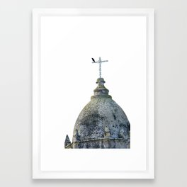 Mission Tower Carmel Framed Art Print