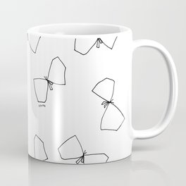We Are Free - Butterfly Illustration Coffee Mug
