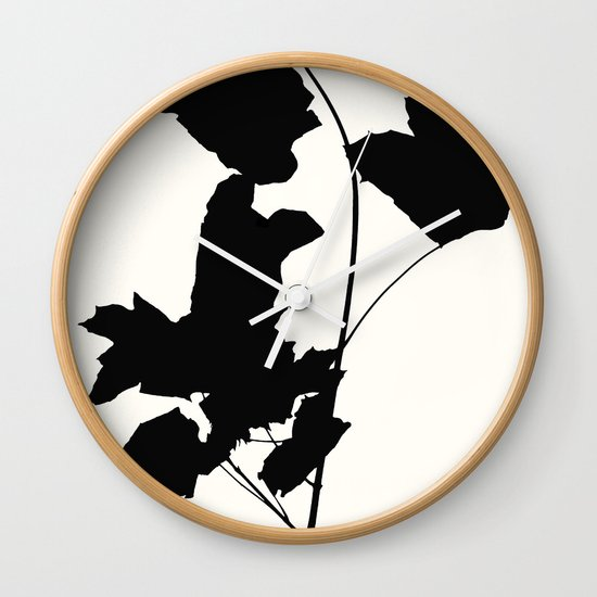 maple 1 Wall Clock