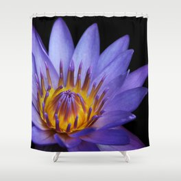 The Singular Embrace Shower Curtain