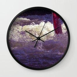 DE - Bavaria : Concept sport Eisbach Munich Wall Clock