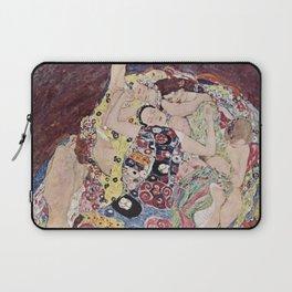 Gustav Klimt - The Maiden Laptop Sleeve