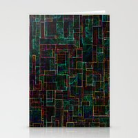 matrix Stationery Cards featuring Matrix by Jacqueline Maldonado