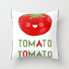 Tomato-Tomato Throw Pillow