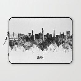 Bari Italy Skyline BW Laptop Sleeve